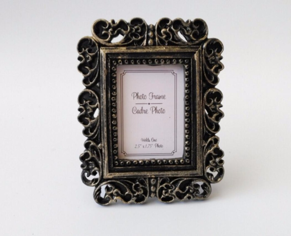 10pcs Mini Retro Baroque Photo Frame For Wedding Baby Shower Party ...