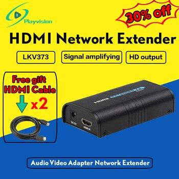 LKV373 V3.0 HDMI เครือข่าย Extender Audio Video อะแดปเตอร์เครือข่าย Extender Over Cat5 สาย - ไม่จำกัด Extension