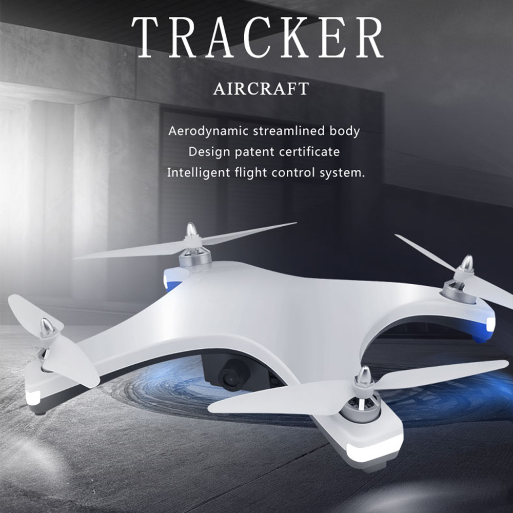 Drone drone RC avec caméra HD Mini drone GPS quadrirotor avec moteur sans balai hélicoptère RC jouets VS SJRC F11 E58 X8 X12