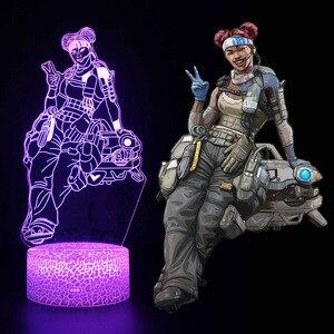 Image 5 - אור עד צעצועי 3D אשליה Led מנורת איפקס אגדות מיראז פעולה איור לילה אור מגן לילדים הווה איפקס צעצועים עבור גיימרים
