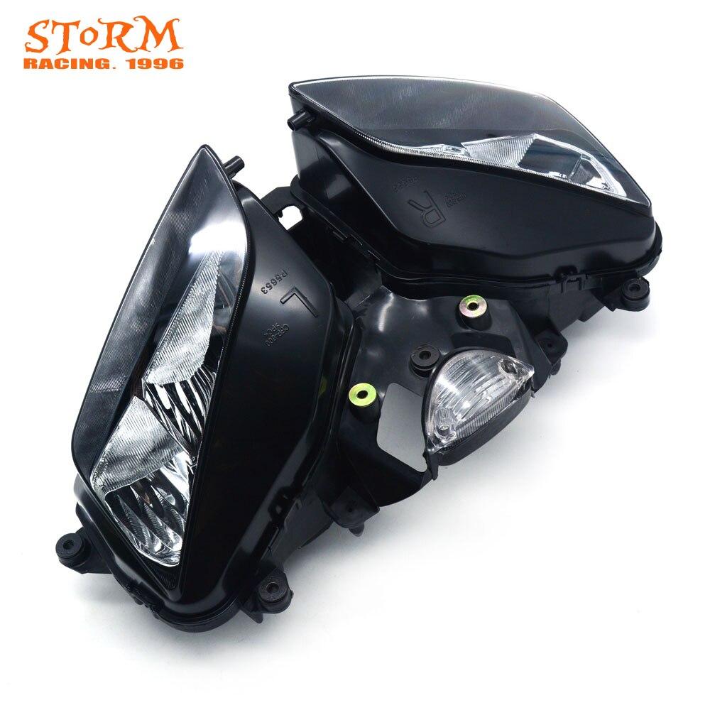 Phare de phare de moto pour Honda CBR600RR CBR 600RR CBR600 RR 2003-2006 2003 2004 2005 2006 vélo de rue - 5