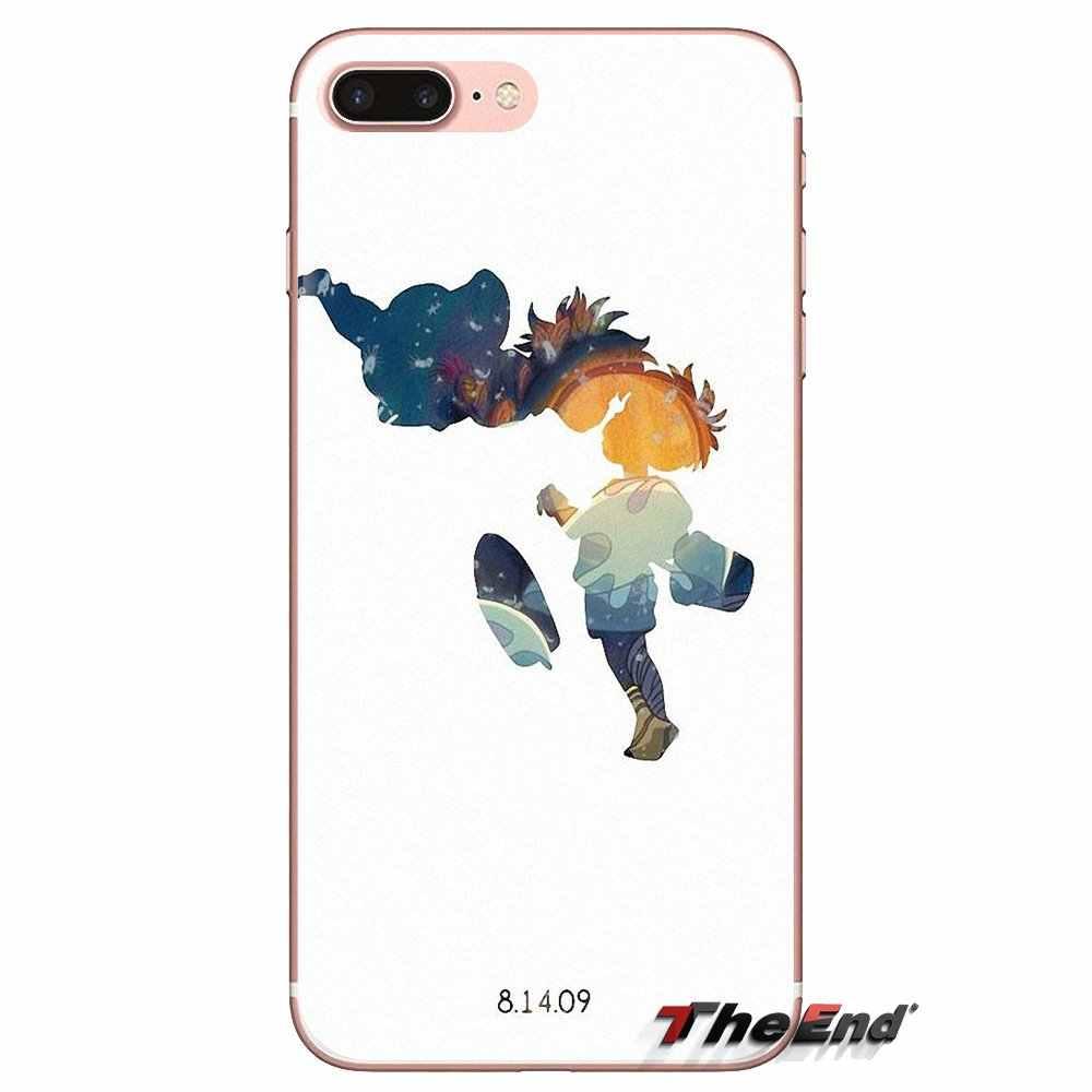ソフト TPU Xiaomi Mi3 サムスン A10 A30 A40 A50 A60 A70 銀河 S2 注 2 グランドコアプライム漫画崖の上のポニョ印刷
