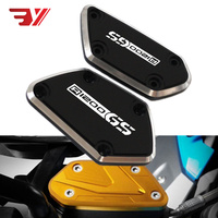 For BMW R1200GS LC Adventure R 1200GS 2012 2017 Motorcycle Accessories CNC Front Brake Clutch Fluid Reservoir Cover Caps & Logo