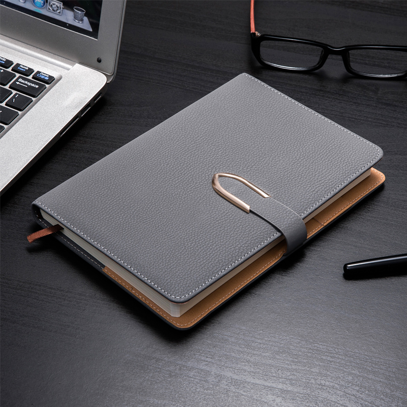 PU Leather Diary Travel Journal Notebook Strap Buckle Notebook Stationery Thickening A5 Notepad Fashion Diary