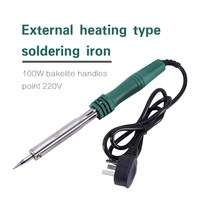 New 220V 100W Electric Heating Pencil Welding Soldering Gun Solder Iron Tool