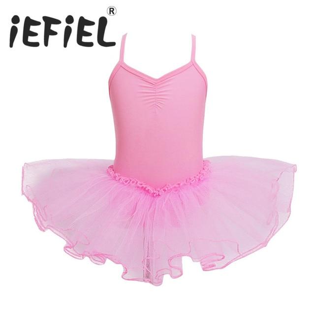 731b7b298 Leotard Girls Dancewear Kids Ballerina Ballet Dress Princess ...