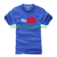 T Shirts Funny Design T Shirts For Women And Men S YOUTUBE Printed 100 Combed Cotton
