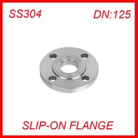 DN125 Stainless Steel SS304 RAISED FACE 4 Bolt SLIP ON FLANGE Industrial