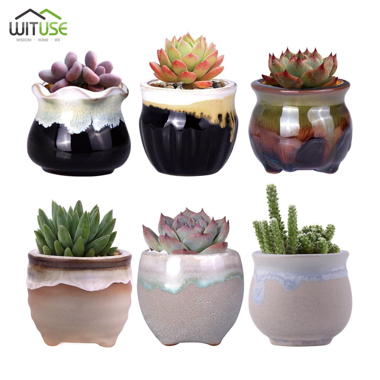Pots De Fleurs Decoratifs Petit Pot En Ceramique Jardinieres