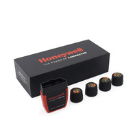 New Arrival TPMS Tire Pressure Alarm Warning+OBD Diagnostic Device work for Android / IOS
