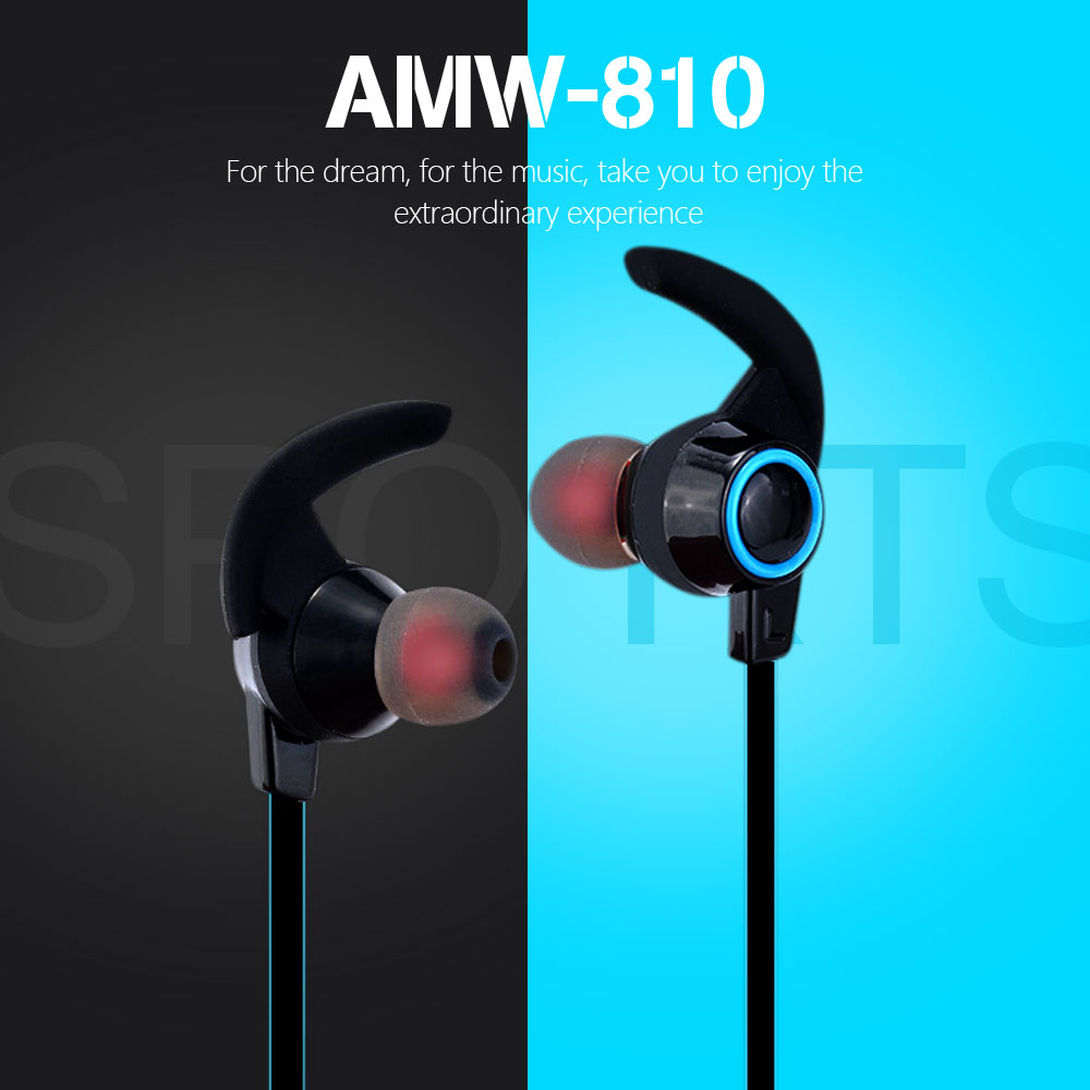 AMW-810 Sport Mini Bluetooth Headset Wireless Earphones Stereo 2.0 Surround Sound Earphone for Phone Xiaomi Sony Computer Xiomi