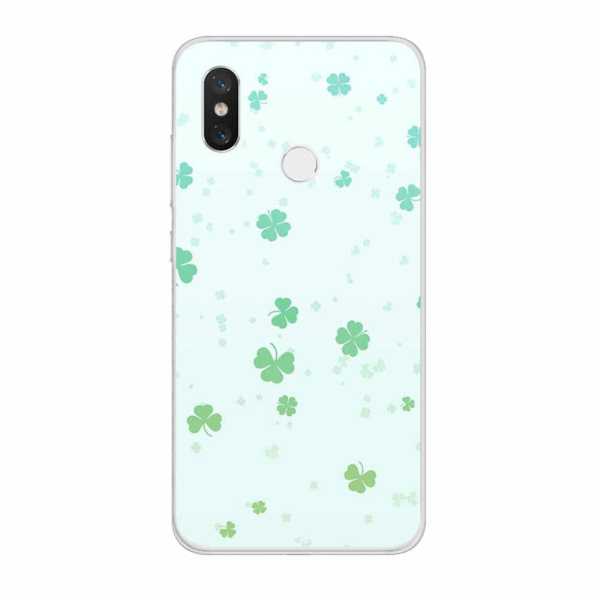 ciciber Flower Butterfly for Xiaomi MI 9 8 A2 A1 6 5 X C S Plus Lite SE Soft Phone Cases for MIX MAX 3 2 1 S Pro PocoPhone F1