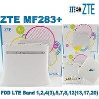 ZTE MF283 + 4 г LTE Беспроводной шлюз + 4 г внешнюю антенну двумя разъемами sma
