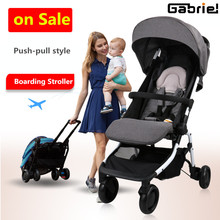 Pocket Stroller 5.9kg 12 Colors Push-pull Baby Stroller Light Folding Portable Bb Carriage  Carry On Air Plane 8 free gifts