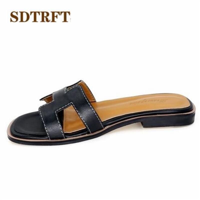 SDTRFT Plus:34 42 shoes women popular 2018 summer sandals ...