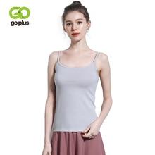 GOPLUS Soft Cotton Basic Strap Tank Tops Women Camis Sexy Sleeveless Summer Blouse Ladies Casual Elastic Slim Vest Female Top