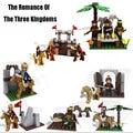 Classic Chinese Historical Figures The Romance Of Three Kingdoms War Scenes Model Building Blocks Bricks Educational Kid Toys