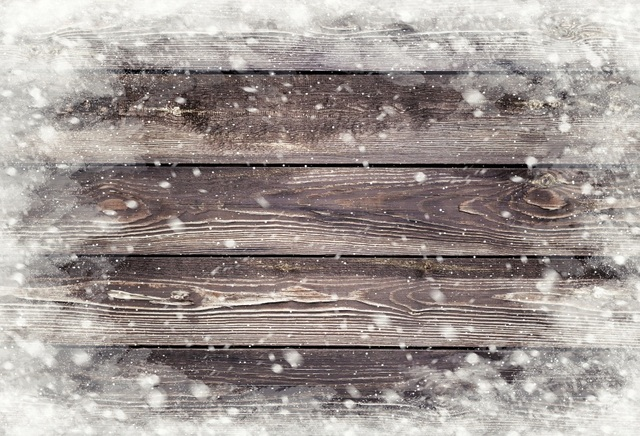 Laeacco Wooden Board Texture Snowflake Winter Baby Photography Backgrounds Customized Photographic Backdrops For Photo Studio