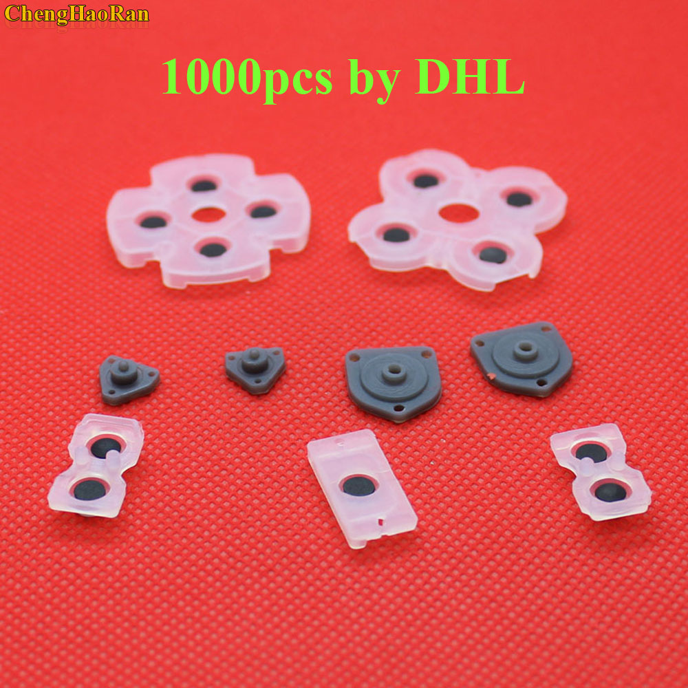 1000pcs by DHL EMS For Sony Playstation 4 PS4 Controller Conductive Silicone Rubber Pads for Dualshock 4 JDS 011 00 DPad Buttons-in Replacement Parts & Accessories from Consumer Electronics