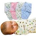 2016 Nueva Promoción de La Llegada Carácter 0-3 Meses 4-6 Meses Bebé Recién Nacido Swaddle Algodón Manta Envuelta mantas