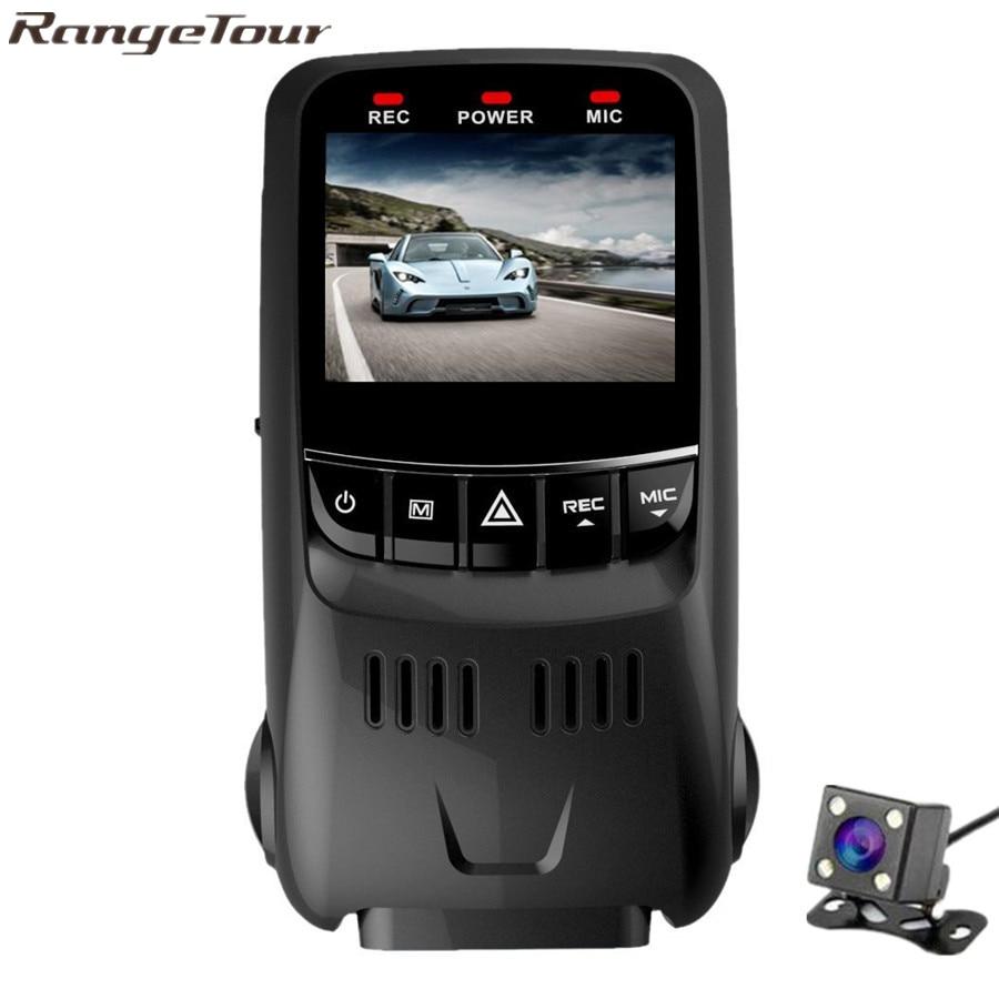 Range Tour Novatek 96655 Mini Car DVR Full HD 1080P Night Vision Car Camera Dual Lens Video Recorder Dash Cam Vehicle Black Box [m2] general car dvr wifi app mini hidden full hd 1080p novatek 96655 sony322 2 1inch g sensor car video recorder