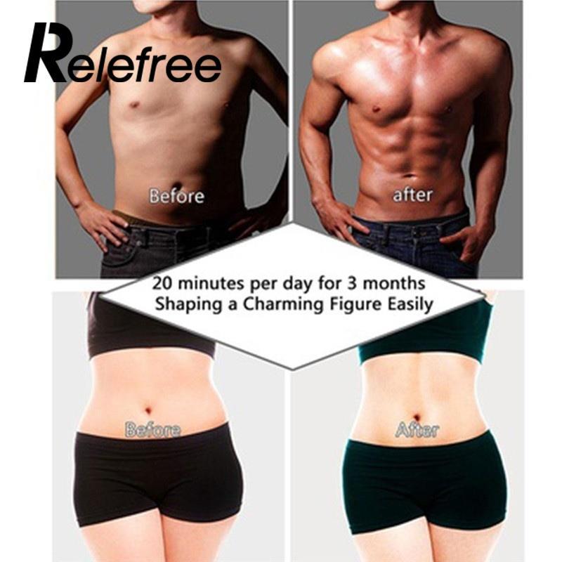 Relefree 12 шт. брюшной площадку Стикеры Пастер мышцы Простыни интеллектуальные прочный упражнения