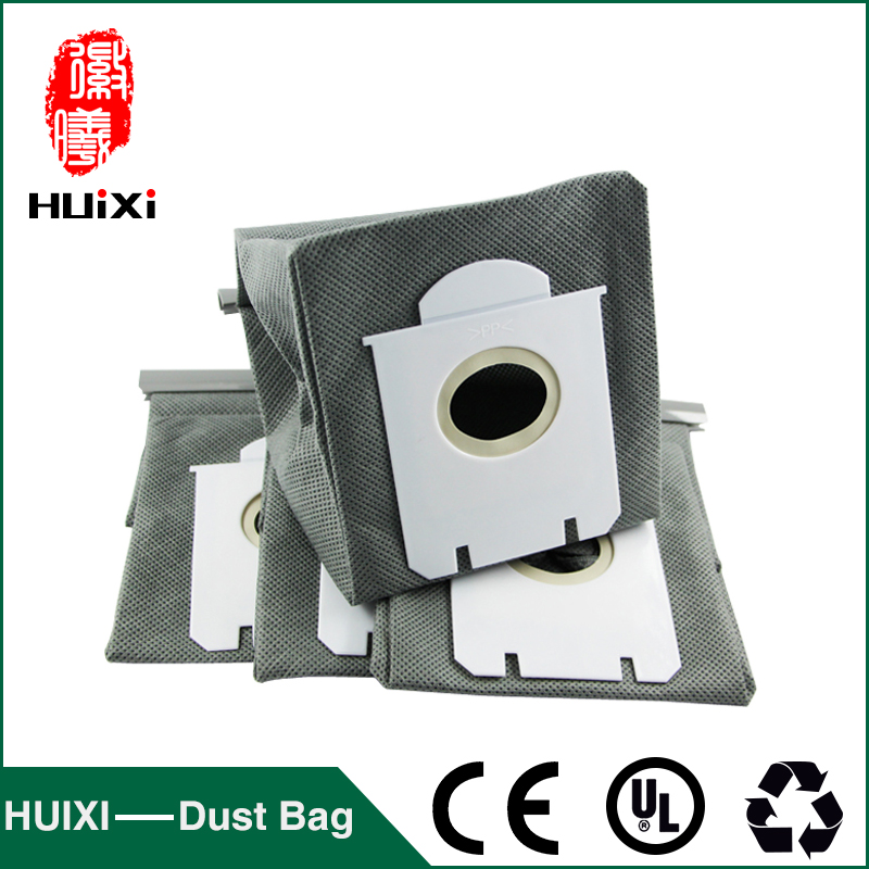 5 pcs Vacuum cleaner non woven filter bag and change dust bag with high efficiency replacement for FC8202 FC84 FC86 FC90 etc