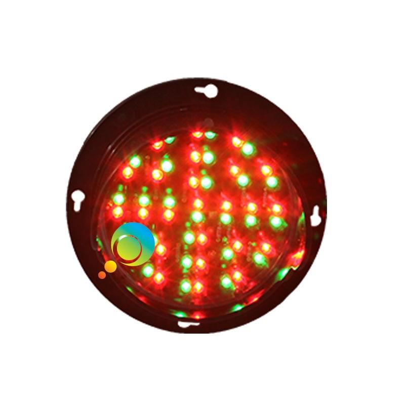 DC12V High Quality Waterproof Mix Red Green Traffic Signal Module LED Traffic Signal Light For Car Washing Equipment