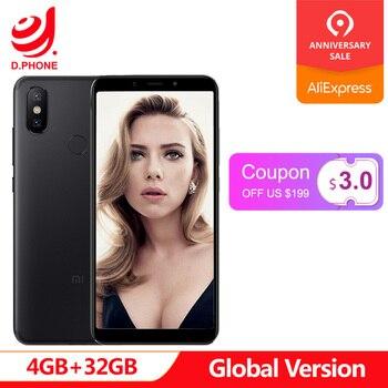 Original Global Version Xiaomi Mi A2 4GB 32GB Android One 5.99