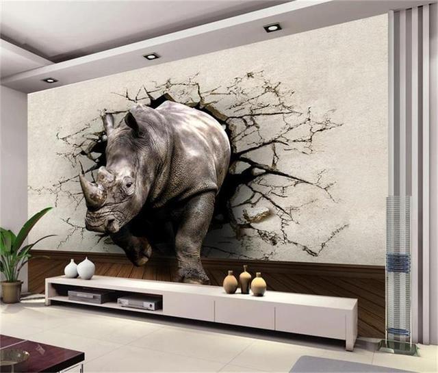 Personnalisé mural photo 3d papier peint salon chambre d\'enfants ...