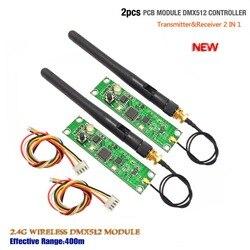 Беспроводной Dmx512 Контроллер один передатчик и один приемник PCB модуль в светодиодное сценическое освещение для обновления сценического ос...