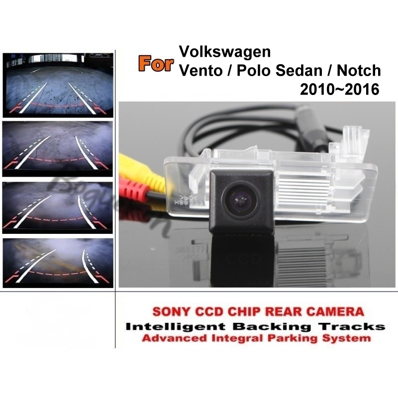 For Volkswagen Vento VW Polo Sedan Notch 2010 2016 Smart Tracks Chip font b Camera b