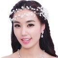 Bride Diaries Rhinestone Crystal Headpiece Vintage Wedding Head Jewelry Accessories jewelry forehead headband Frontlet