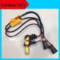 4PCS=2XH11 led fog lamp + 2X led canceller canbus led fog light 7.5W 12V H11 H8  xenon white/yellow 3000K h11 led accessories