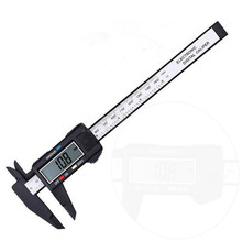 Sale High Quality 2017 150MM 6inch LCD Digital Electronic Carbon Fiber Vernier Caliper Gauge Micromet B