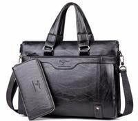 2014 Hot Kangaroo Good Quality Genuine Leather Men S Shoulder Bag Messenger Business Briefcases Male S