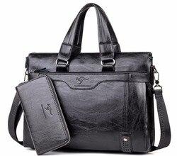 2018 Для мужчин плечо сумка Для мужчин Бизнес Портфели сумка для портативного компьютера мужская сумка briefase мужской сумка сумки