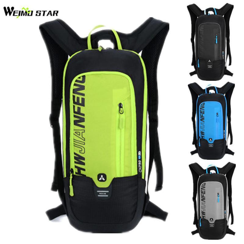 Sac à dos de vélo 10L étanche hommes femmes Sports de plein air vtt vélo sac à eau respirant randonnée Camping cyclisme hydratation sac à dos