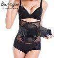 Burvogue Hot Body Shaper Slimming breathable  waist trainer Underbust control Waist belt Cincher & Tummy Trimmer Shapewear