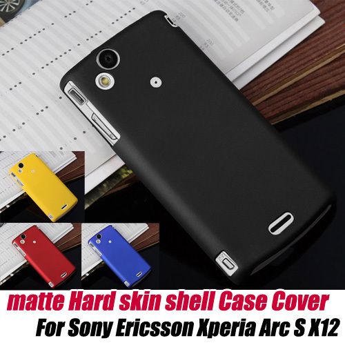 frosted Matte Hard protective Case Shell Cover Skin For sony Ericsson LT18i/LT15i/x12 Xperia arc S