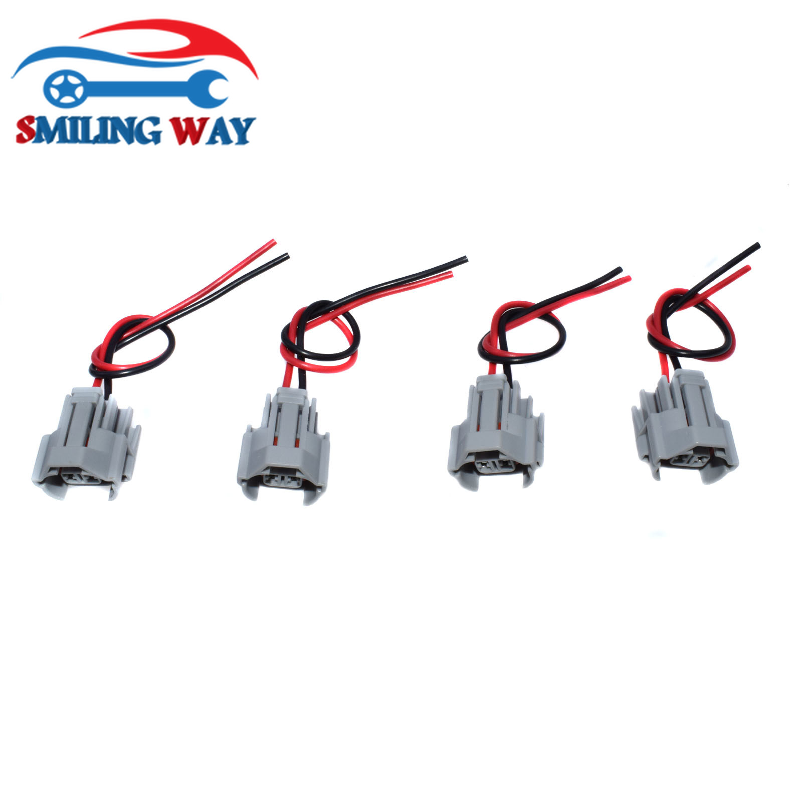 Pigtails for Toyota Mazda Subaru 350Z Set of 6 Denso Fuel Injector Connectors