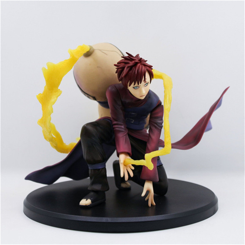 WVW 15CM Hot Sale Anime Heroes Naruto Gaara Model PVC Toy Action Figure Decoration For Collection Gift Free shipping цена