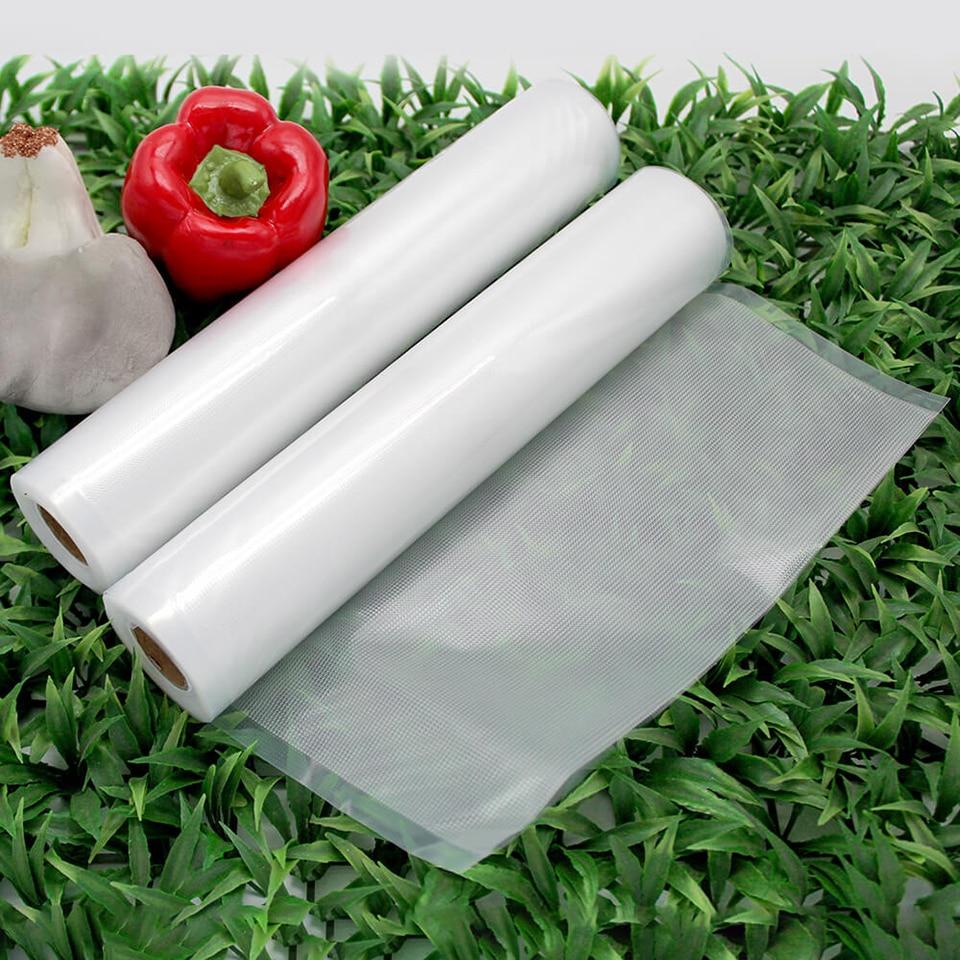LAIMENG Vacuum Packaging Rolls Vacuum Sealer Bags Storage Bags Food Bag for Vacuum Food Packing Machine Sous Vide 3 Rolls R133