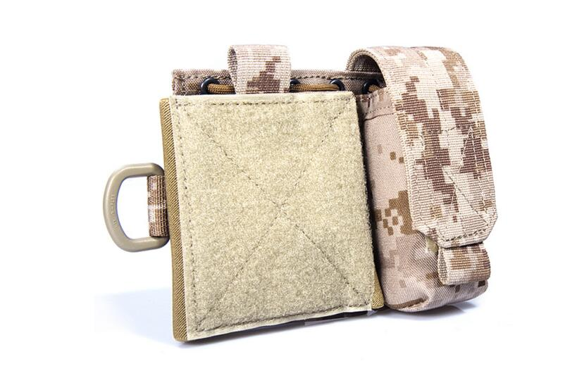 FLYYE MOLLE Map Pouch Hunting Camping Hiking Climb Outdoor Tactical Military CORDURA Combat C015
