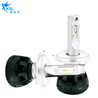 2PCS Car Headlight 58W 6000K White Light H1 H4 H7 H11 9012 For Audi BMW Benz Hyundai Honda VW TOYOTA Skoda fast ship