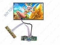 VGA LVDS ЖК дисплей контроллер комплект плюс lp116wh1 B116XW02 1366x768 40pin светодиодный Панель DIY Мониторы