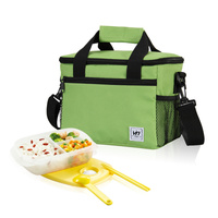 Lancheira Lunch Bags Cooler Insulated Waterproof Lunch Carry Storage Picnic Bag For Kids Women Men Thermal