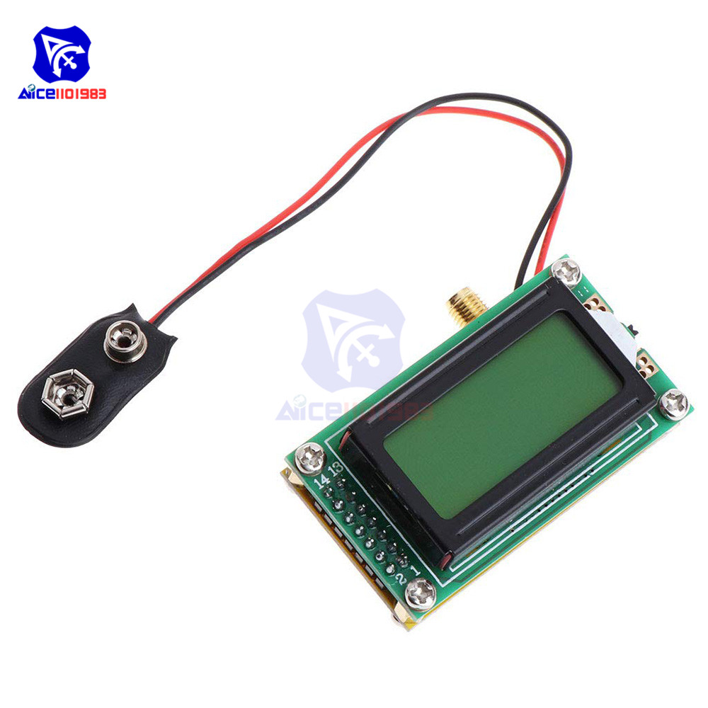 High Accuracy Frequency Counter Tester Measurement RF Meter 1 -500 <font><b>MHz</b></font> Tester Module for ham Radio image