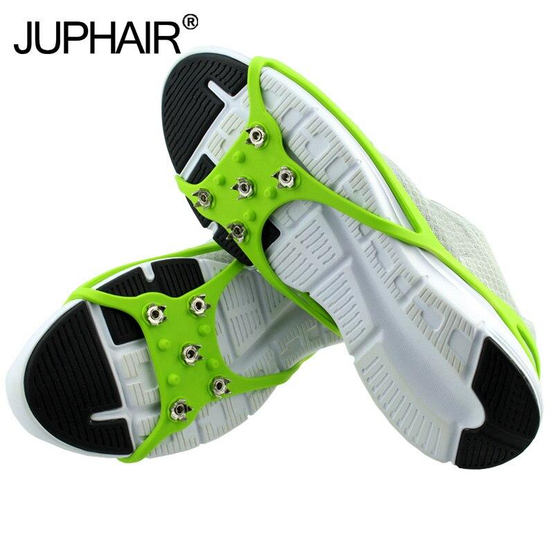 1 Pair Ultra hafif Taşınabilir Silikon kaymaz Krampon Kış Açık Kar kaymaz Kar Kurulu Ayakkabı Kapak buz Pençe Yürüyüş Ayakkabısı