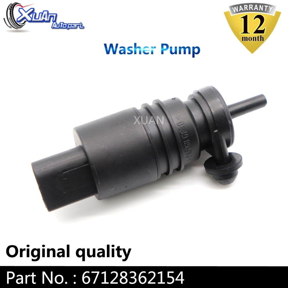 XUAN سيارة مضخة غسل تعمل بحاجب الري موتور استبدال 67128362154 لسيارات BMW E46 E38 E39 E60 E65 E53 X5 Z4 67128377612 1J5955651